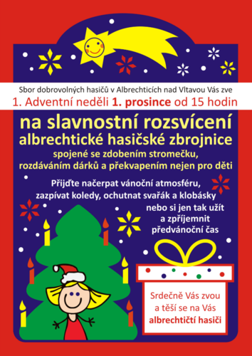 Advent s hasiči